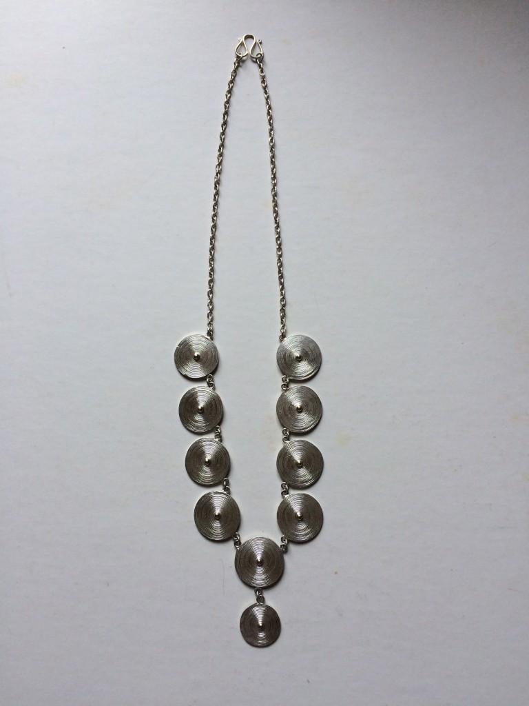 burmese silver jewellery