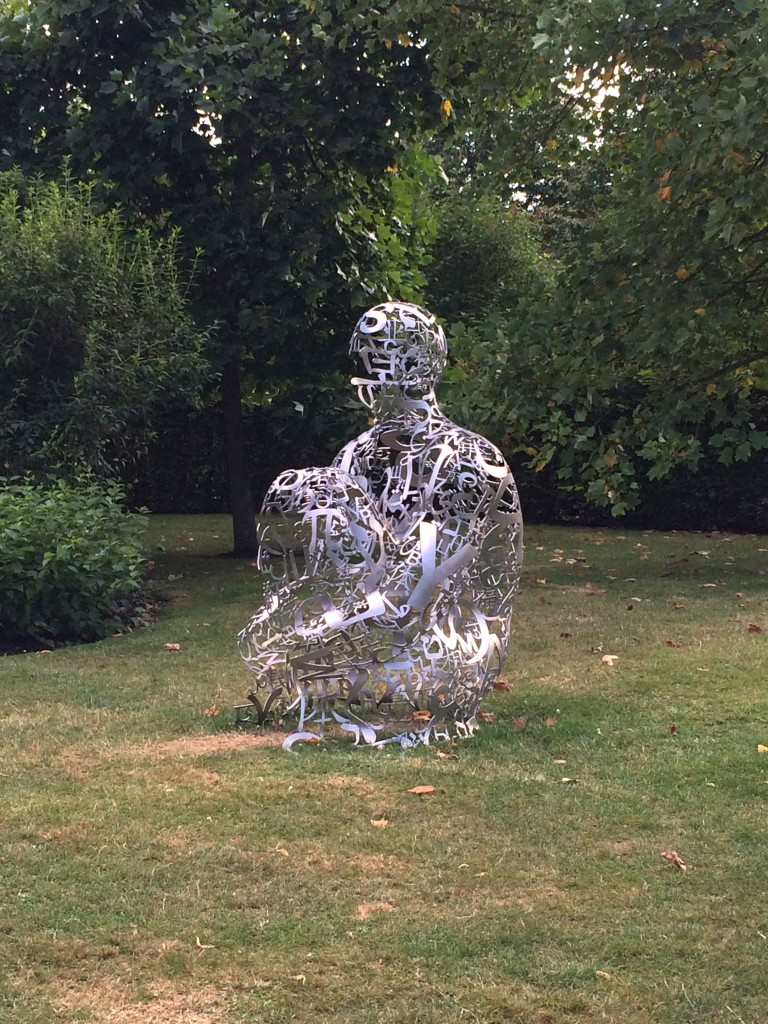 Jaume Plensa, Tribute to dom Thierry Ruinart (2016)