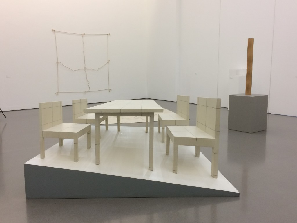 Jiro Takamatsu 'Chairs and the Table in Perspective'