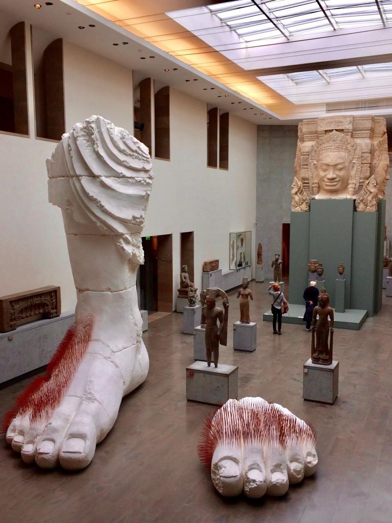 musee guimet Prune Nourry