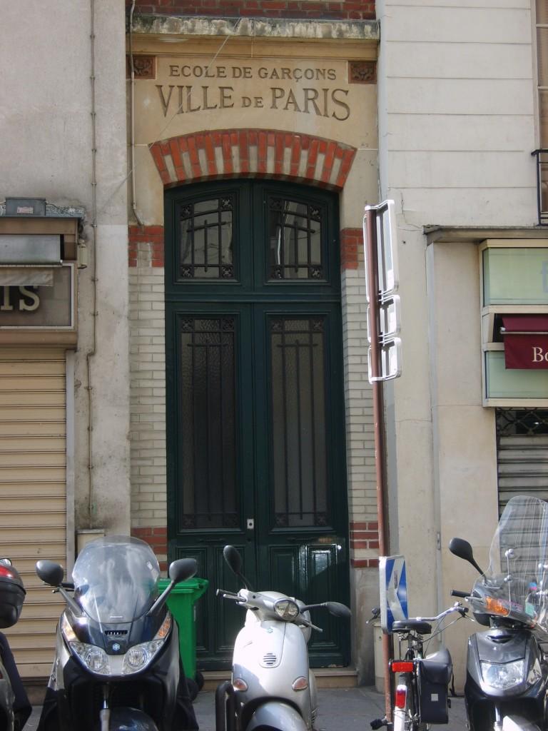 ecole de garcons ville de paris