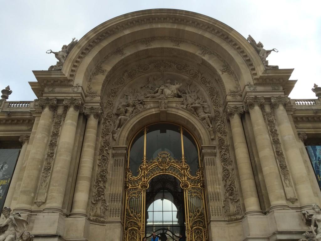 Petit Palais façade door