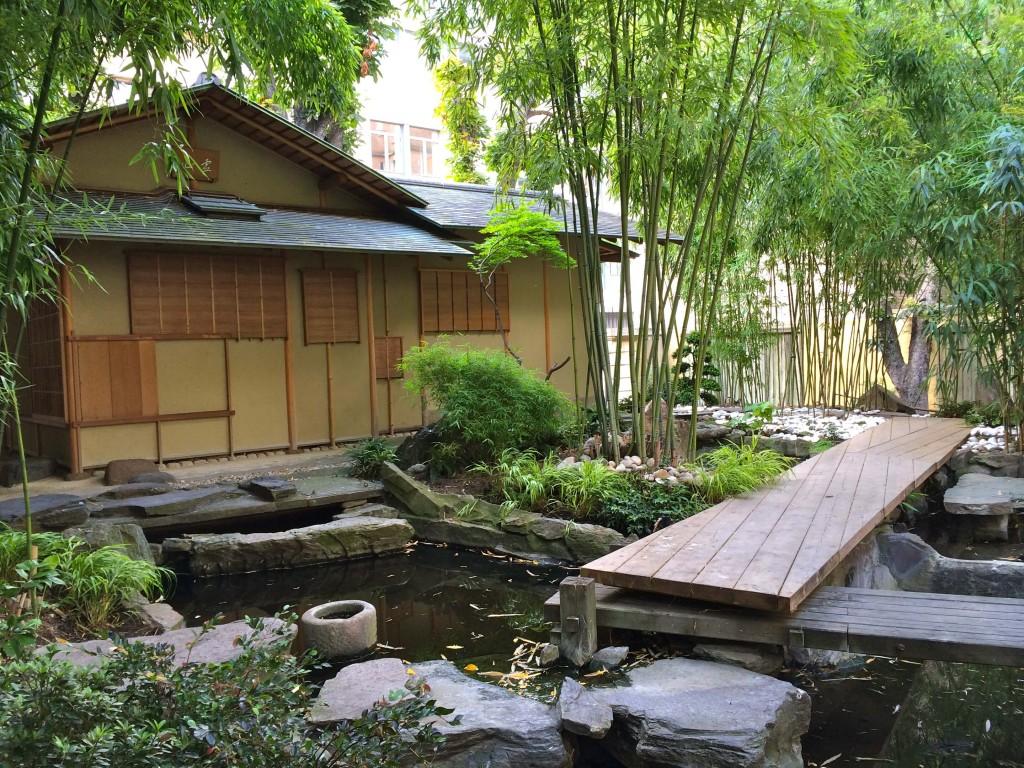 musee guimet Japanese garden