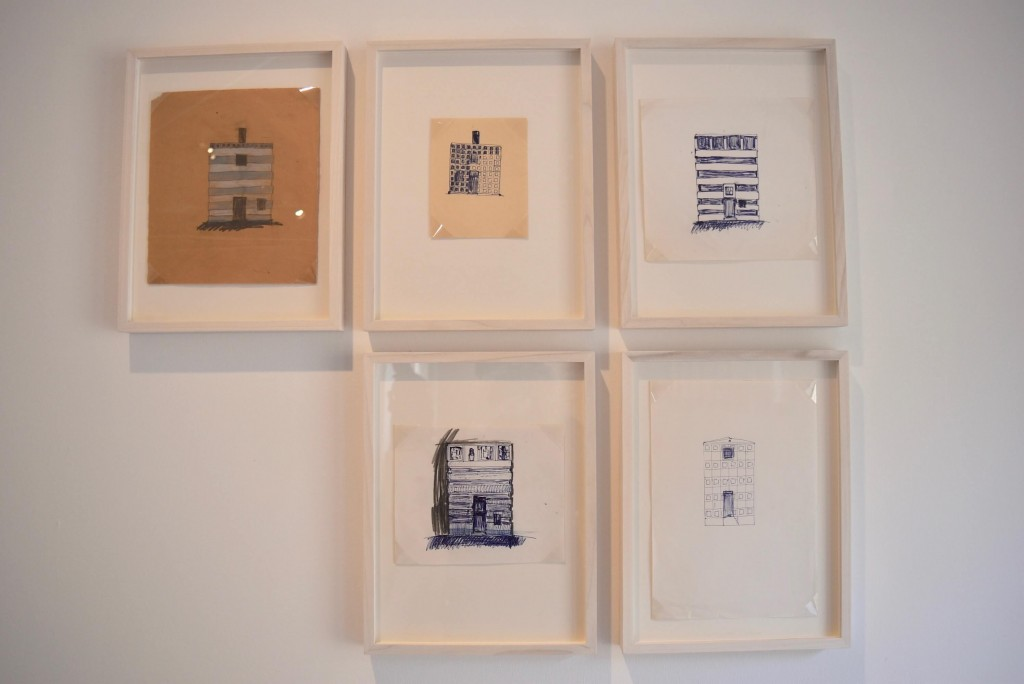 Peter Markli's architectural drawings
