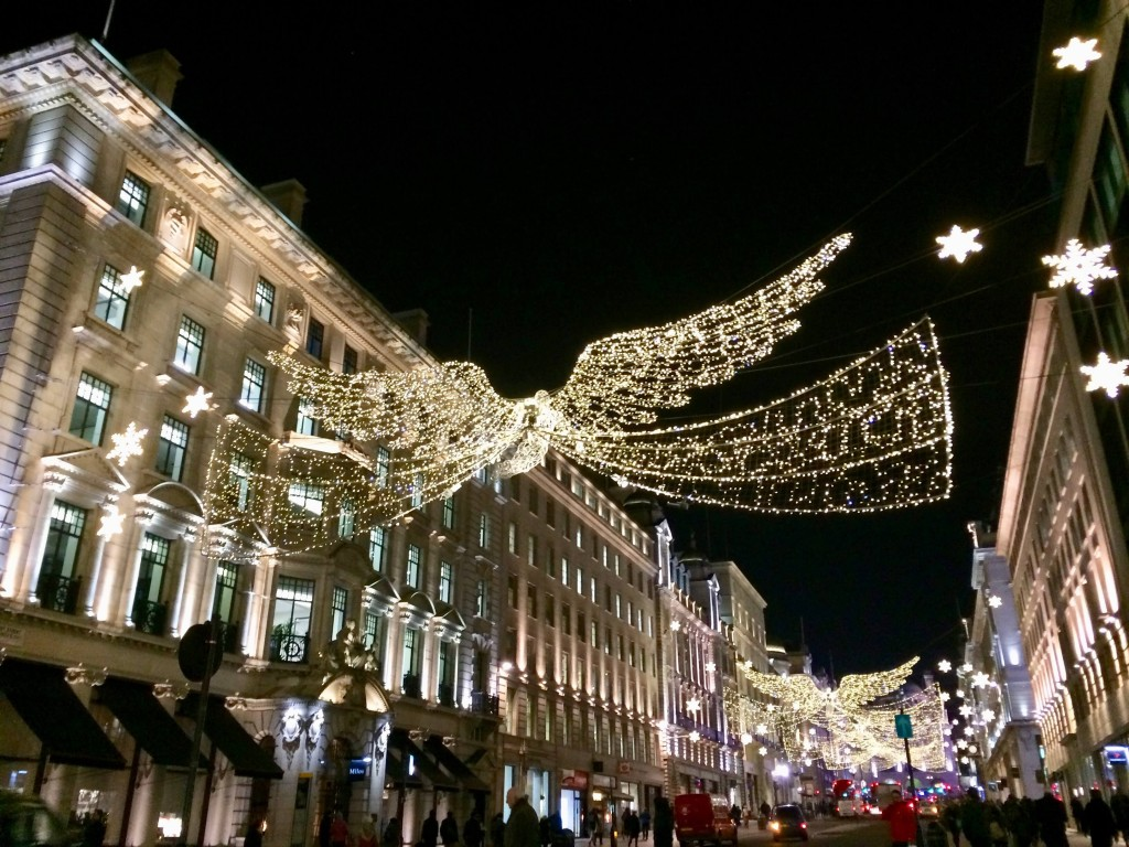 regents street christmas lights