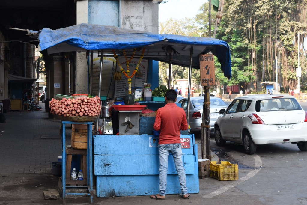 mumbai Street food vendors