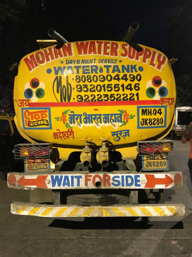 mumbai water trucks