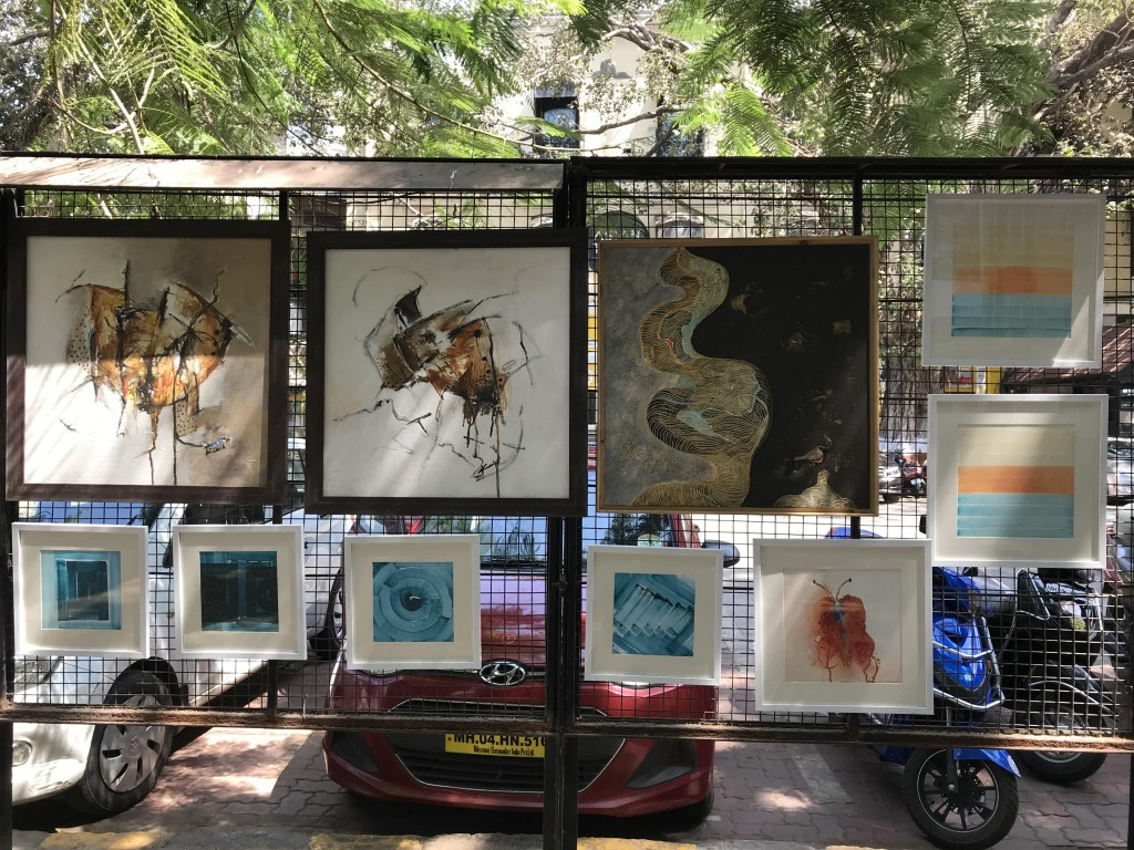 Kala Ghoda art Rampart Gallery
