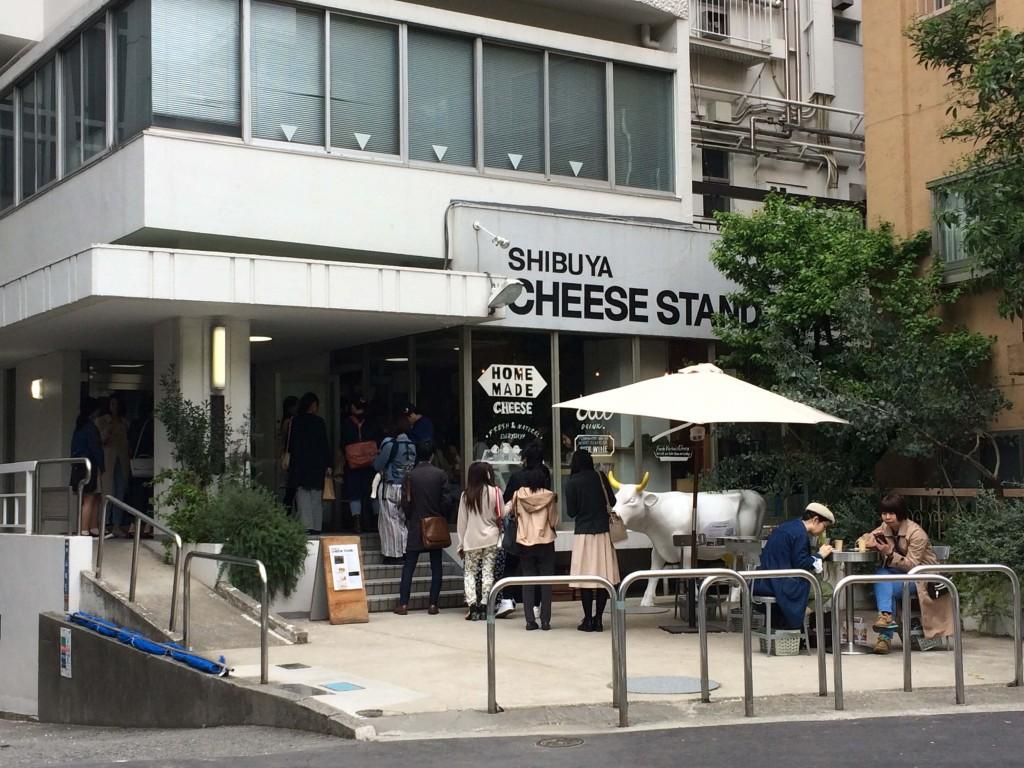 shibuya cheese stand