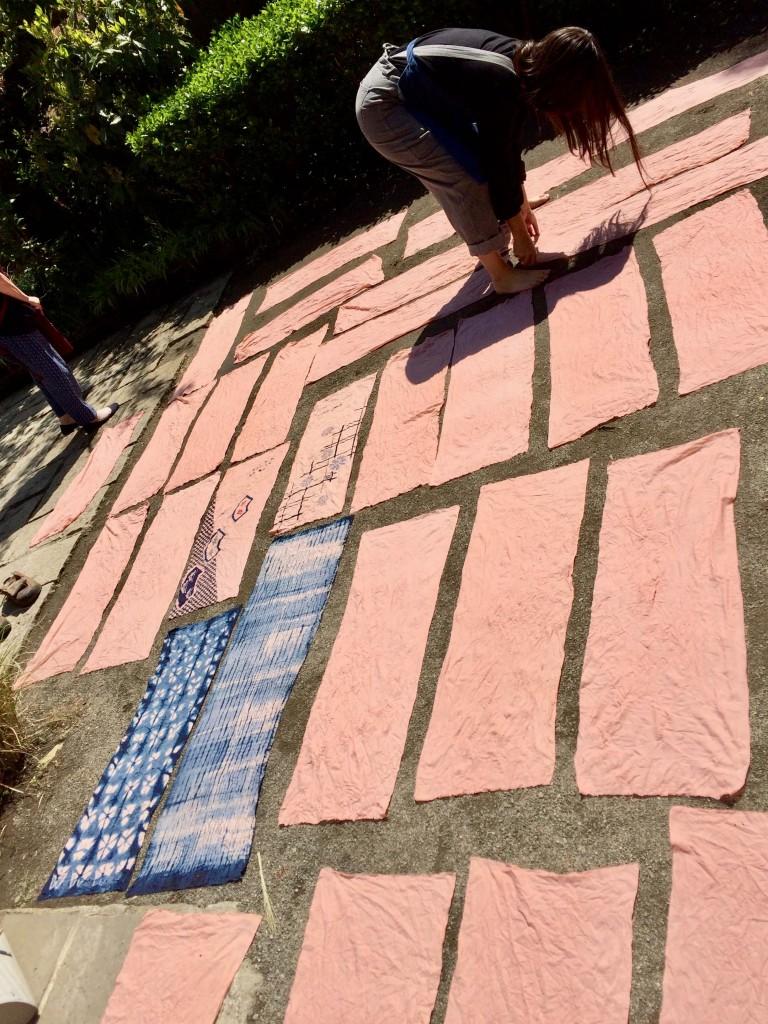 fujino textiles workshop