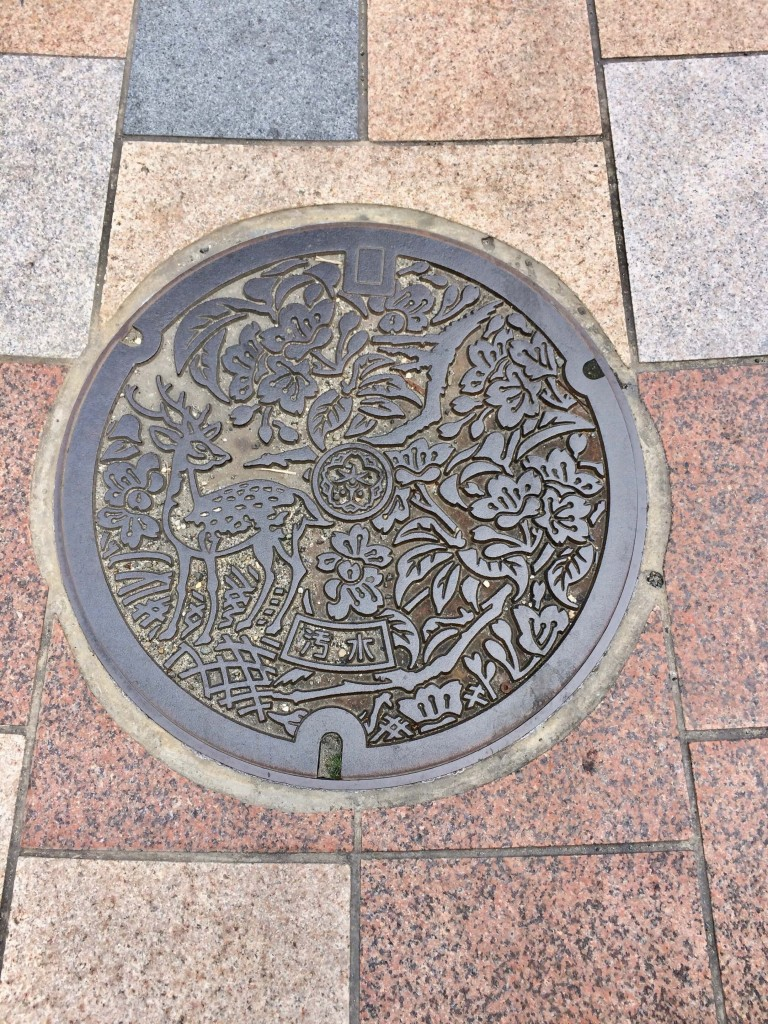 manhole cover nara