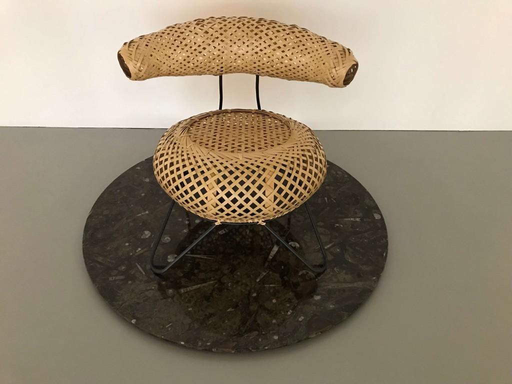 Isamu Noguchi bamboo Basket Chair