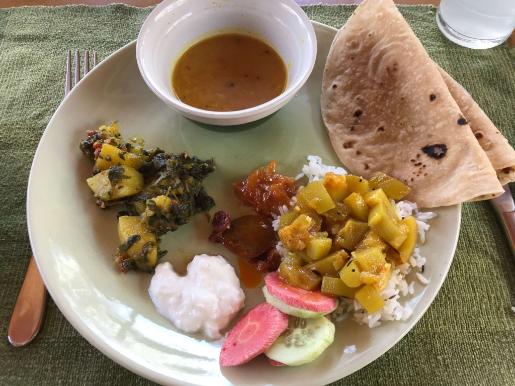 The bhuj house lunch