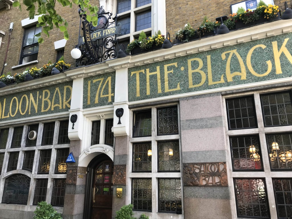 The Blackfriar pub