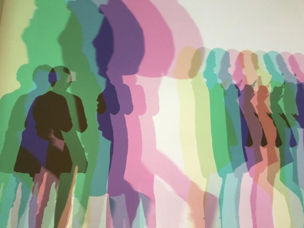 Olafur Eliasson Your uncertain shadow (colour), 2010