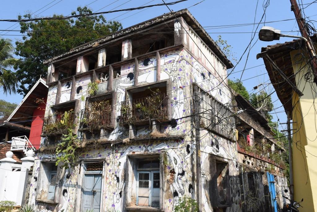 street art Fort Kochi Shanto Antony