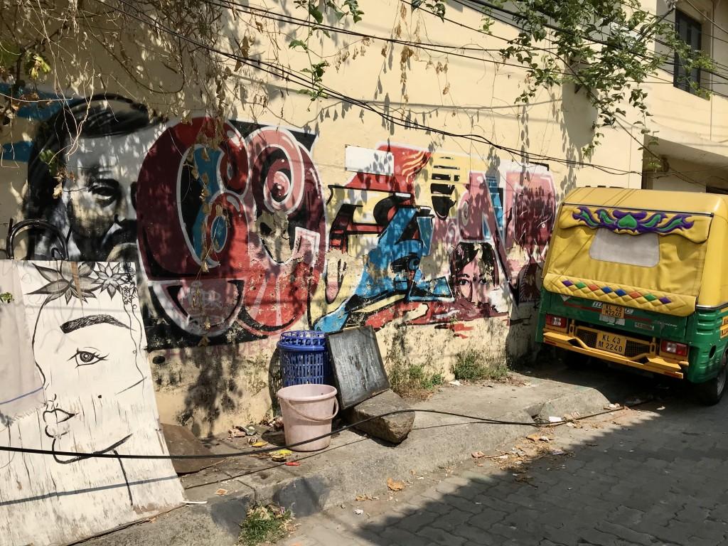 street art kochi